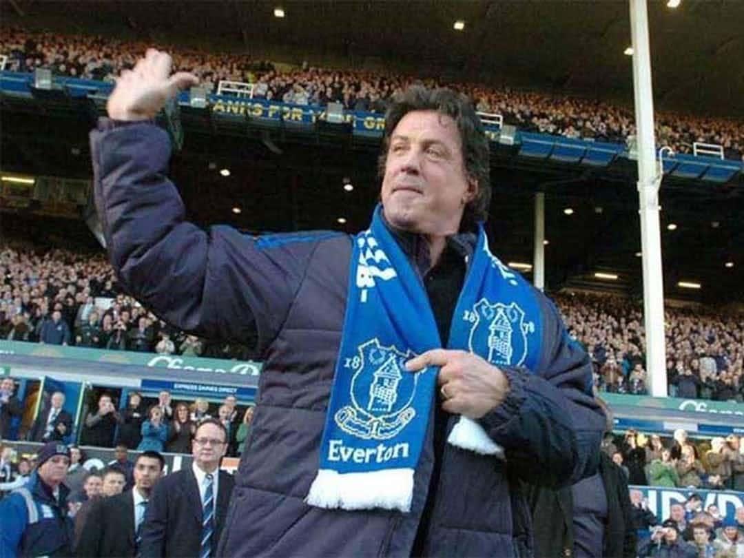 Sylvester Stallone Fan Everton