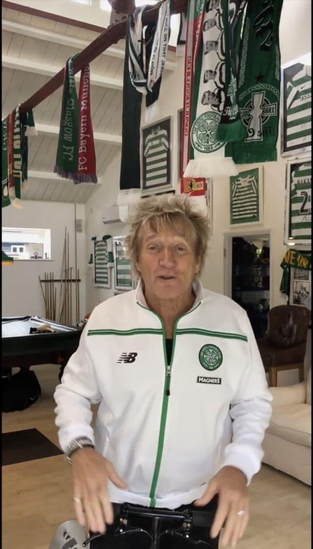 Rod Stewart Fan Celtic