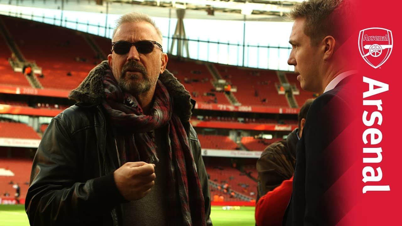 Kevin Costner Fan Arsenal