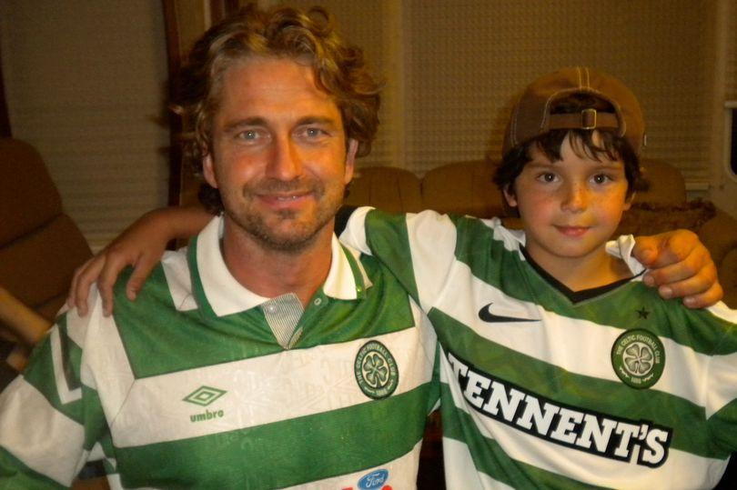 Gerard Butler Celtic Fan