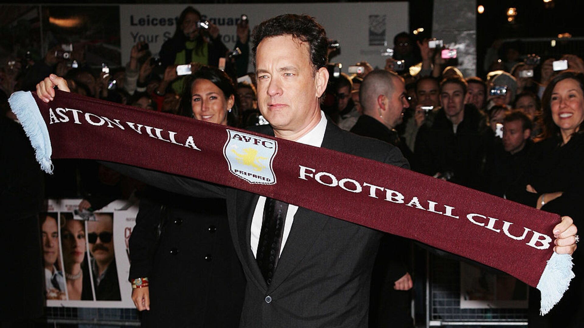 Tom Hanks Fan Aston Villa