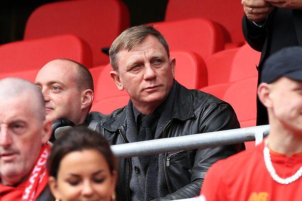 Daniel Craig Fanático Del Liverpool