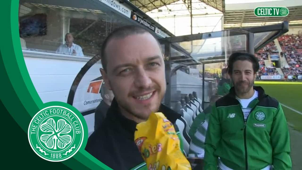 James McAvoy Fan Celtic
