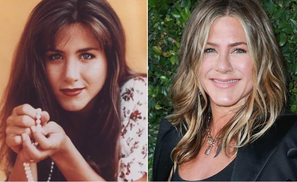 L'actrice Jennifer Aniston Est Âgée De 50 Ans
