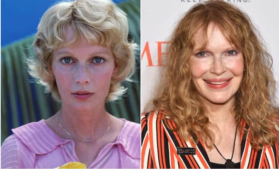 L'actrice Mia Farrow Est Âgée De 73 Ans