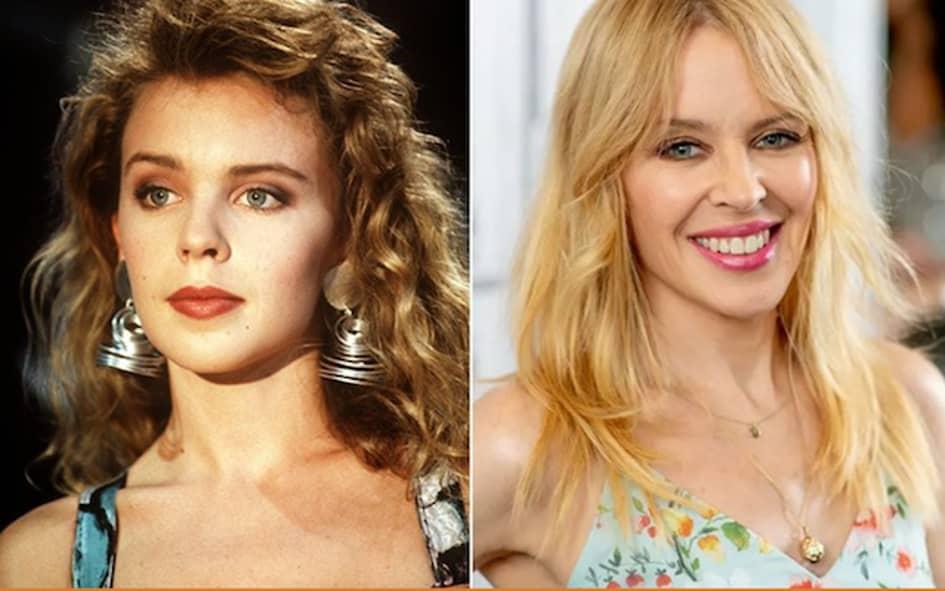 La Chanteuse Kylie Minogue Est Âgée De 50 Ans