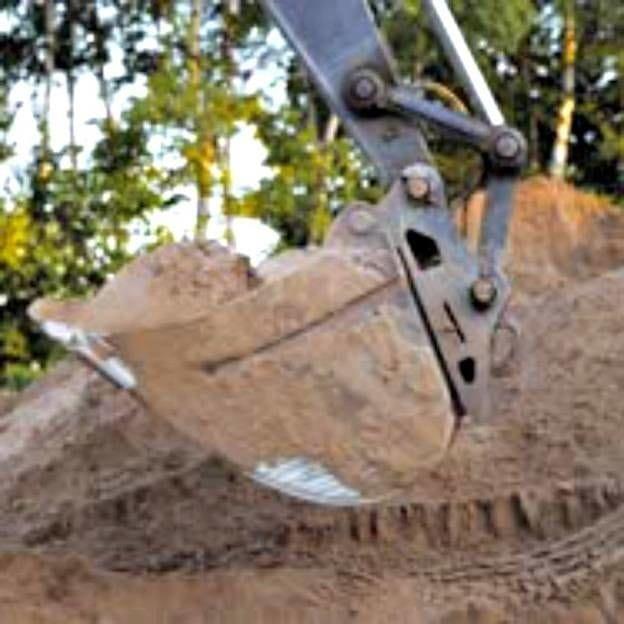 A escavadeira tornou tudo mais fácil